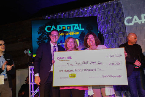 QuickZip Sheet Company Named Winner of the 2016 Capital Championship Entrepreneurial Tournament