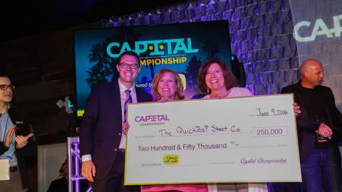 Denver Business Journal:  Colorado startup gets 1st place and $250,000 at national competition