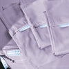 Classic Starter Pack in Lavender, Percale Cotton (includes 1 base + 1 zip-on sheet, 1 flat sheet, 2 pillowcases)