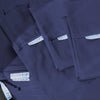 Classic Starter Pack in Navy, Sateen Cotton (includes 1 base + 1 zip-on sheet, 1 flat sheet, 2 pillowcases)