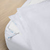 Premium Split King Starter Pack in White, Sateen Cotton (includes 2 twin XL base + 4 twin XL zip-on sheets)