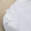 Premium Starter Pack in White, Percale Cotton (includes 1 base + 2 zip-on sheets)