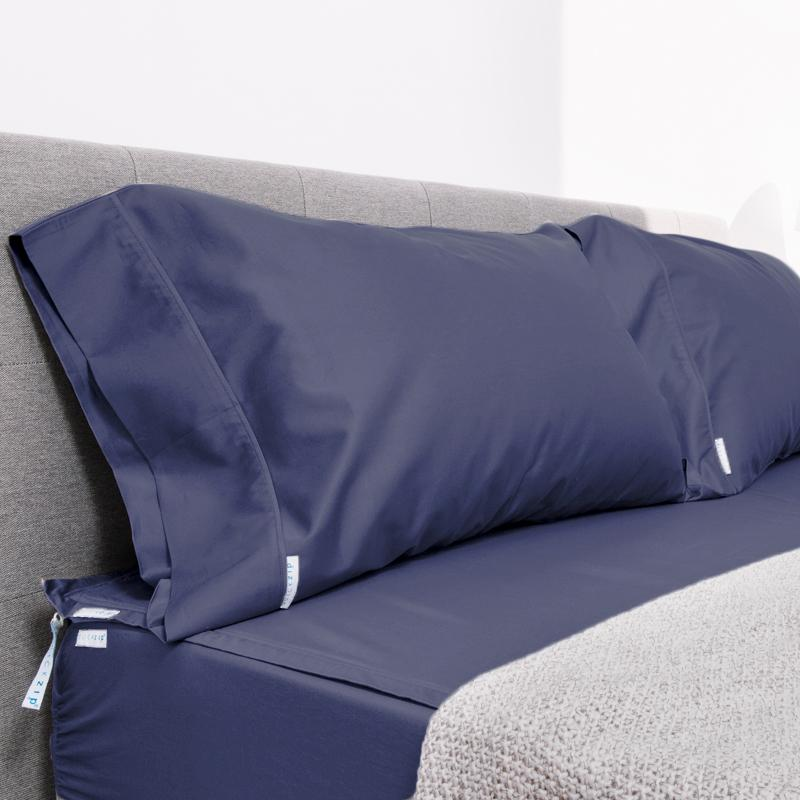 Percale Zip-On Sheets