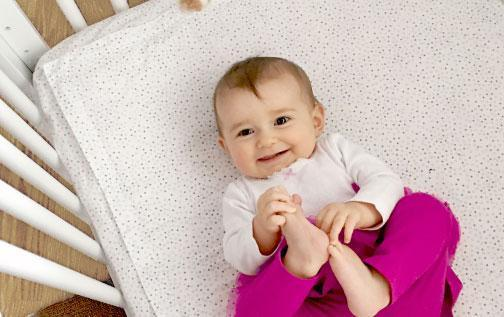 Our award-winning product is the safest crib sheet on the market.
