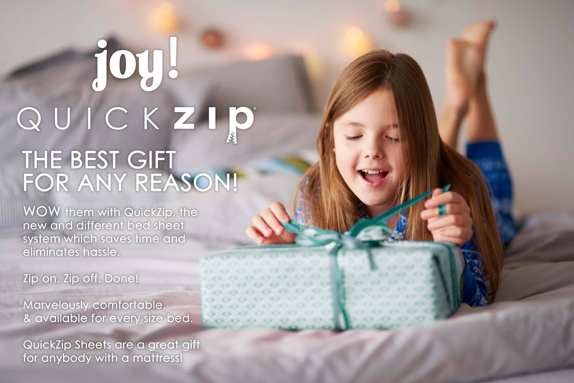 Free gift wrapping on all orders for a limited time.