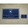 Business B.S. 2020 plaque and magnet