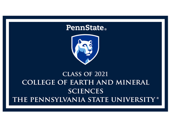 College of Earth and Mineral Sciences - Class of 2021