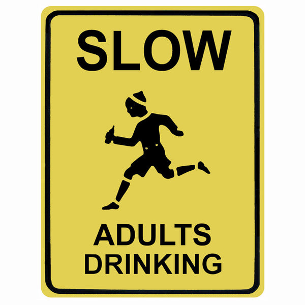 Slow Adults Drinking