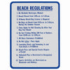 Beach Regulations