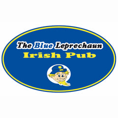 Blue Leprechaun Oval