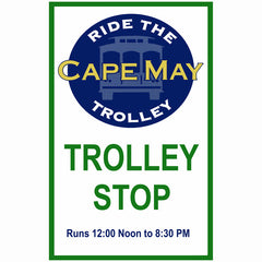Cape May Trolley Stop