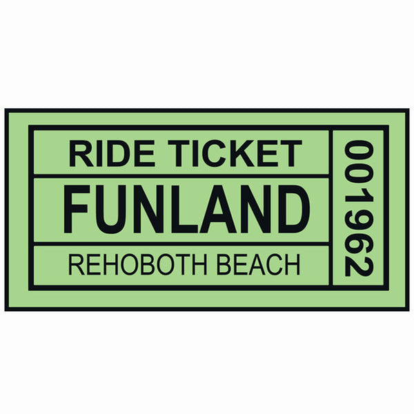 Funland Ride Ticket