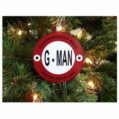 G-Man Ornament