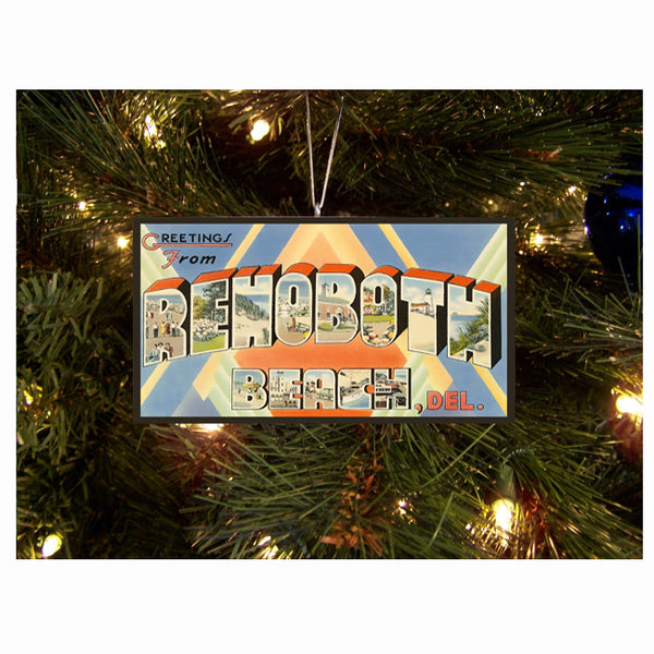 Greetings from Rehoboth Ornament