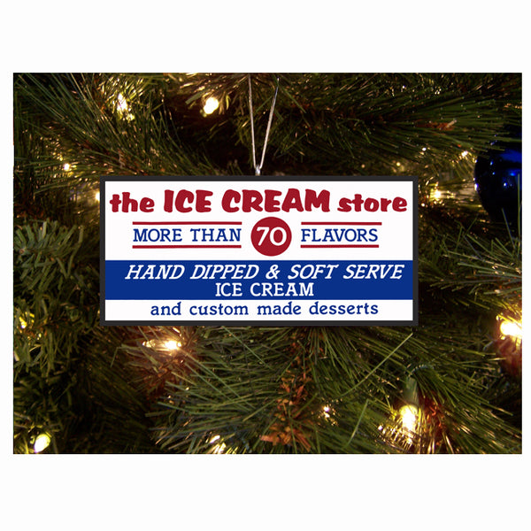 Ice Cream Store Ornament