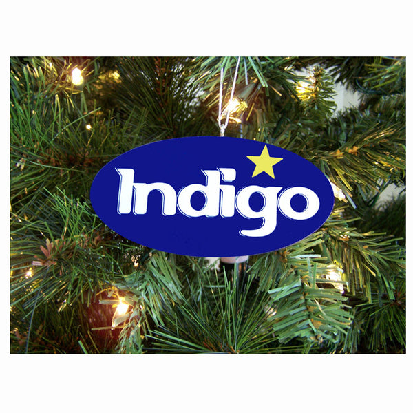 Indigo Ornament