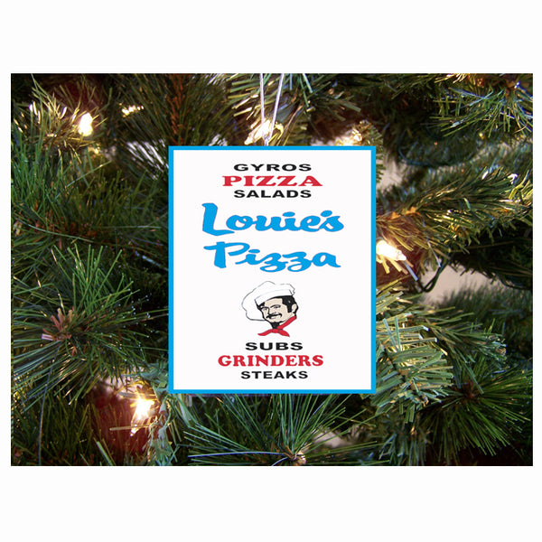 Louie's Pizza Ornament