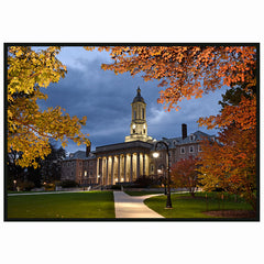 Old Main Fall Evening