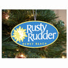 Rusty Rudder Ornament