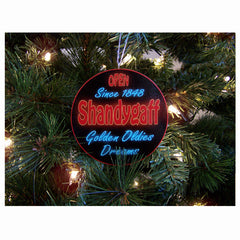 Shandygaff Circle Ornament