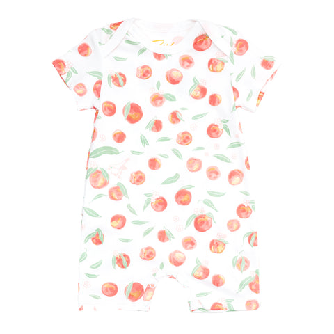 Summer Peaches Romper