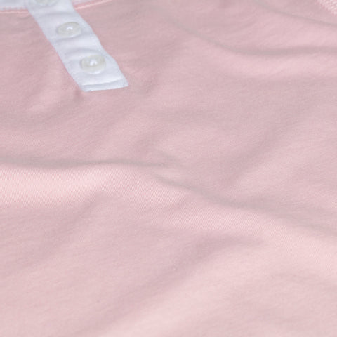 Pink organic girls pajamas. 100% pima cotton Petidoux snug fitted