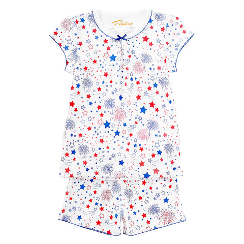Celebration Girl's Summer Pajamas