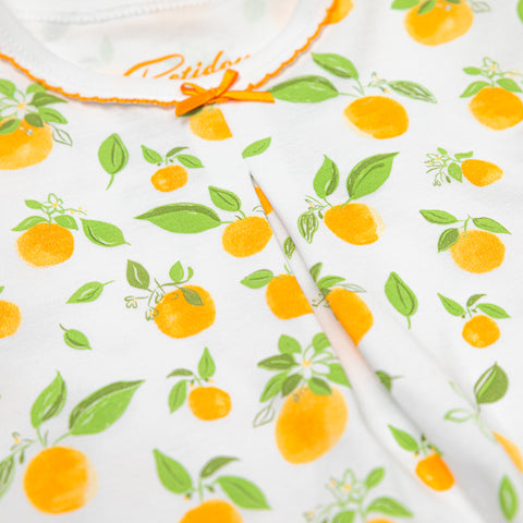 Girls Orange blossoms Pajamas