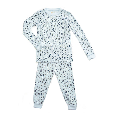 Penguins Blue Pajamas