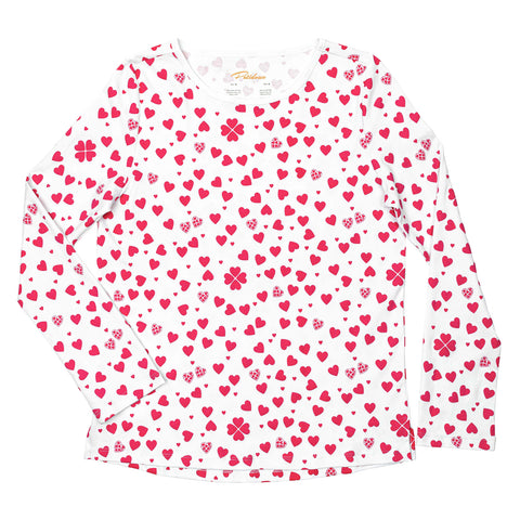 mother's day heart pajamas