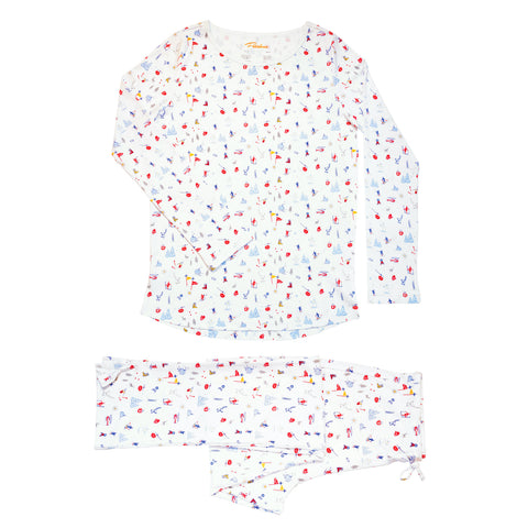 Ski Memories Pajamas Women