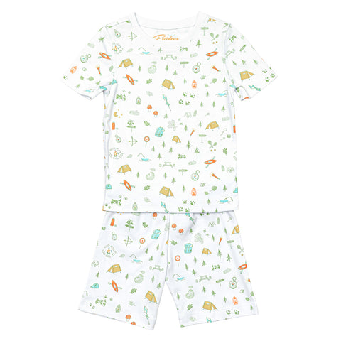 Summer camp short pajamas  Petidoux