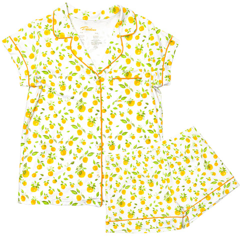Orange blossoms Pajamas for women