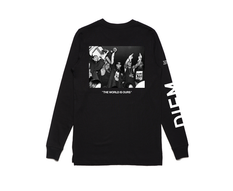 BMF X DIEM - WORLD IS OURS LONG SLEEVE