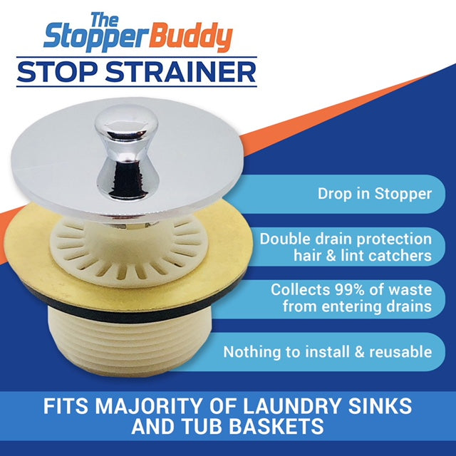 Stop Strainer for Bathroom Tub