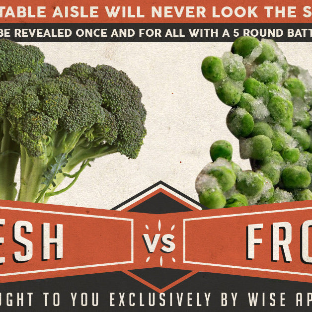 Fresh vs Frozen Vegetables