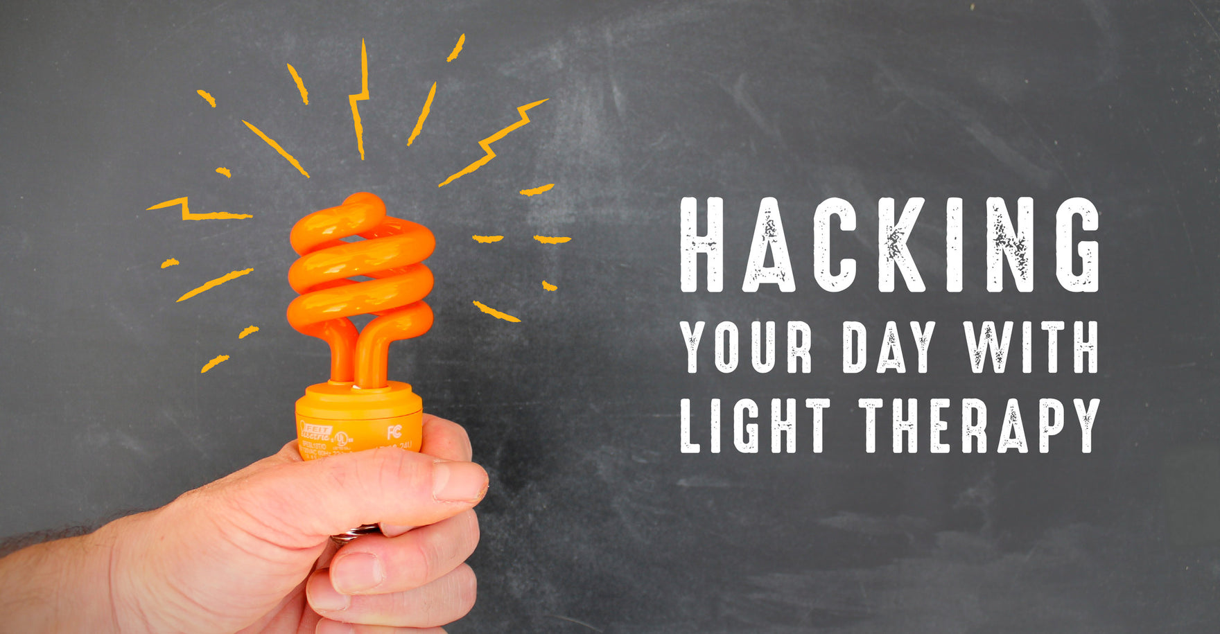 Hacking Your Day With Light Therapy: Increase Productivity and Improve Sleep Patterns