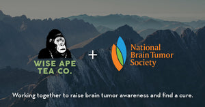 Wise Ape Tea Partners with the National Brain Tumor Society