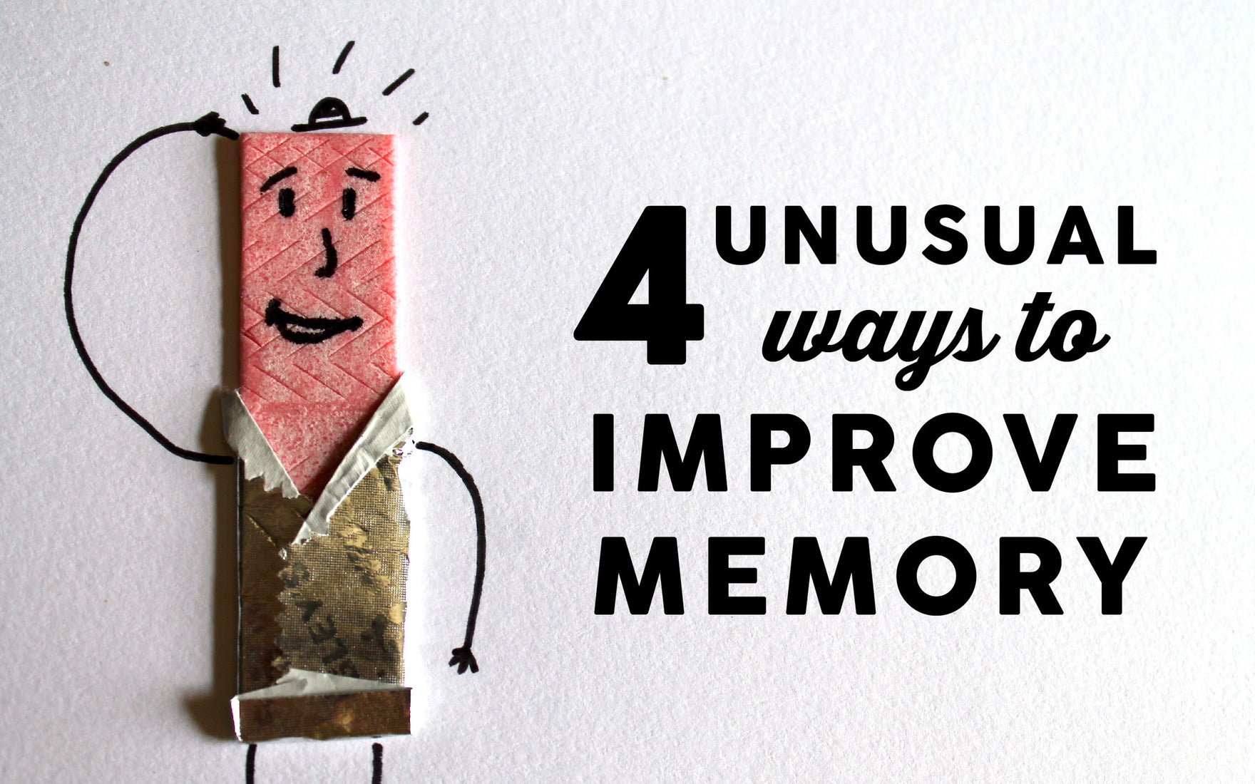 How To Improve Memory With These 4 Unconventional Tips