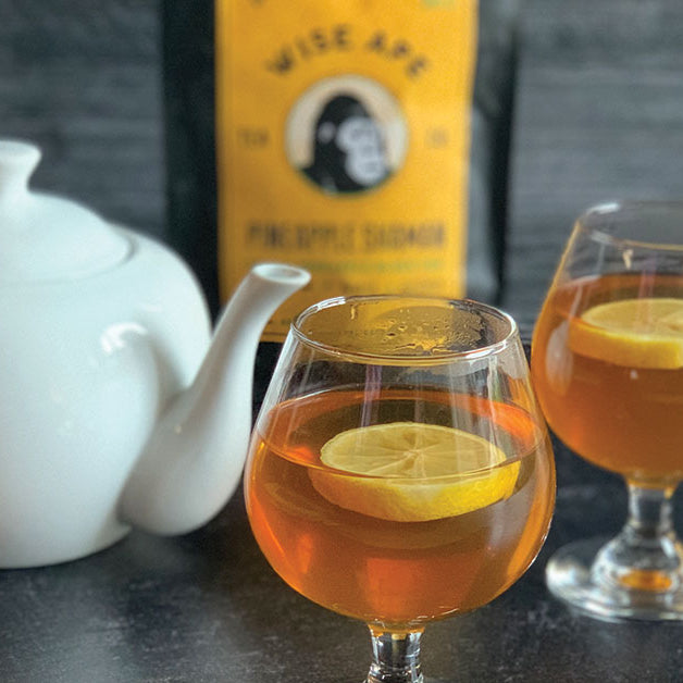 Pineapple Shaman Adaptogenic Tea Hot Toddy Recipe