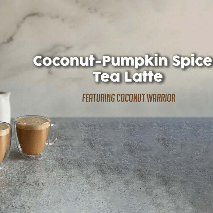 Coconut Pumpkin Spiced Tea Latte