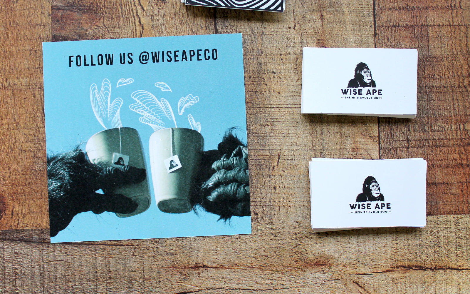 Wise Ape Tea Co. @wiseapeco social media