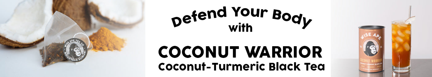 Coconut Warrior anti inflammatory tea