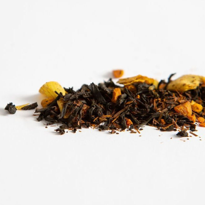 Coconut Warrior loose leaf turmeric tea.