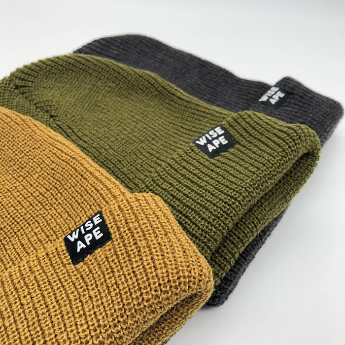 Wise Ape slouch beanies