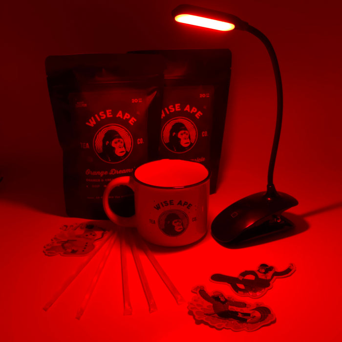Wise Ape Deep Sleep Red Light Holiday Bundle