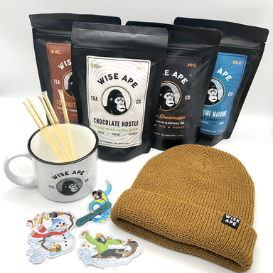 Wise Ape adaptogenic tea Holiday Bundle