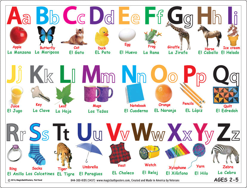 alphabet in spanish
