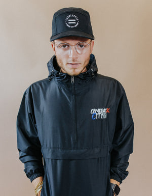 Comeback City Embroidered Champion Jacket