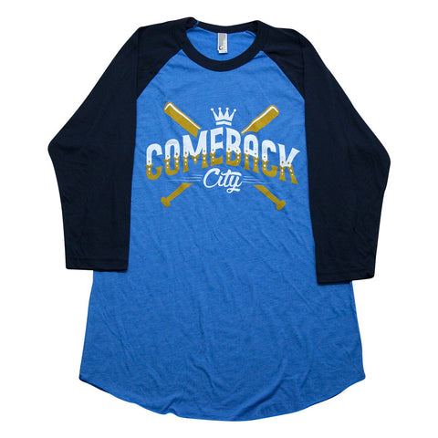 Comeback City T-Shirt - 3/4 Sleeve